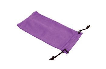 Microfiber Pouch M ass. black blue violet grey